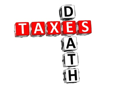 Estate law death and taxes